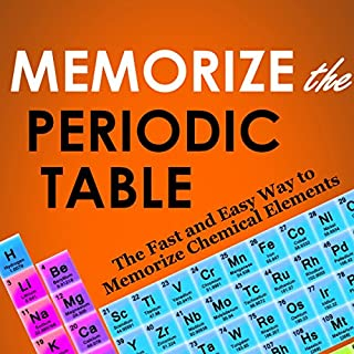 Memorize the Periodic Table audiobook cover art
