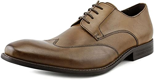 Kenneth Cole New York Mens Main Lane Wingtip Oxford zapatos