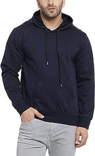 Scott International Men's Rich Cotton Hoodie Sweatshirt - Navy Blue
