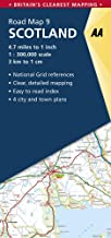 Scotland Road Map (AA Road Map Britain)