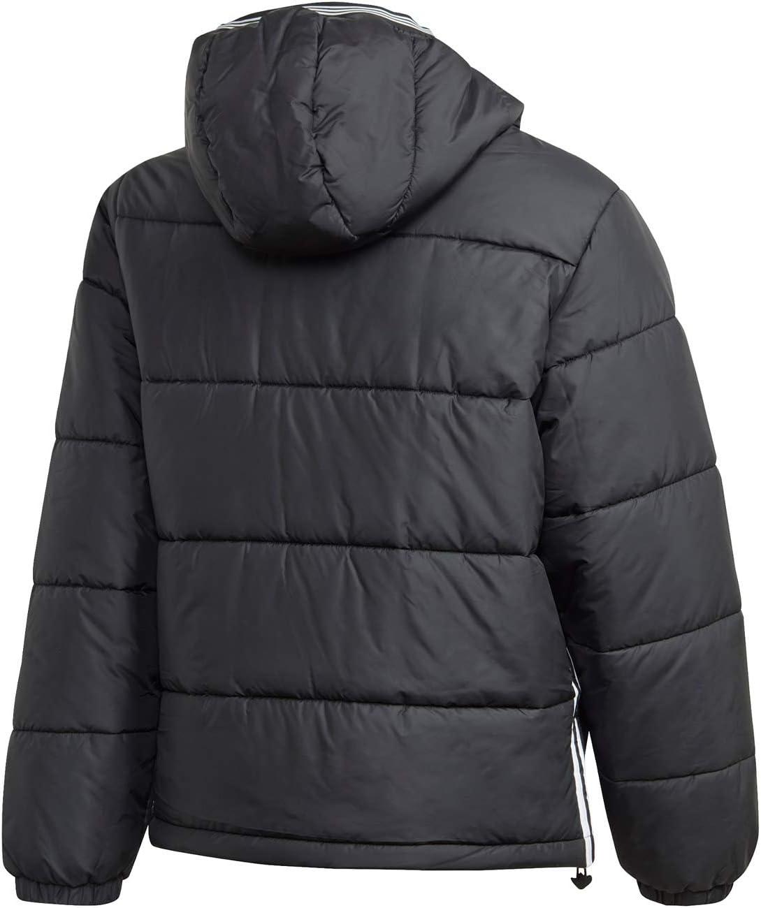 adidas Pad Hooded Puff Veste de Sport Homme Noir