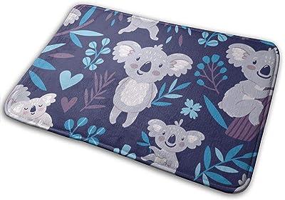 Cute Koala Bears Animals Wildlife Australia Door Mat Rug Indoor/Front Door/Shower Bathroom Doormat, Non-Slip Doormats, 23.6 X 15.8 Inch