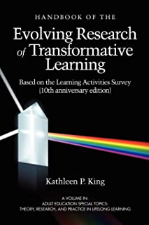 The Handbook of the Evolving Research of Transformative Learning Based on the Learning Activities Survey