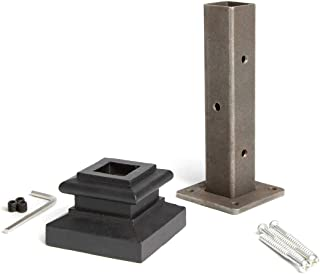 Best iron newel mounting kit Reviews