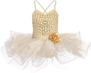 IWEMEK Maillot Vestido de Ballet de Niña de Fiestas