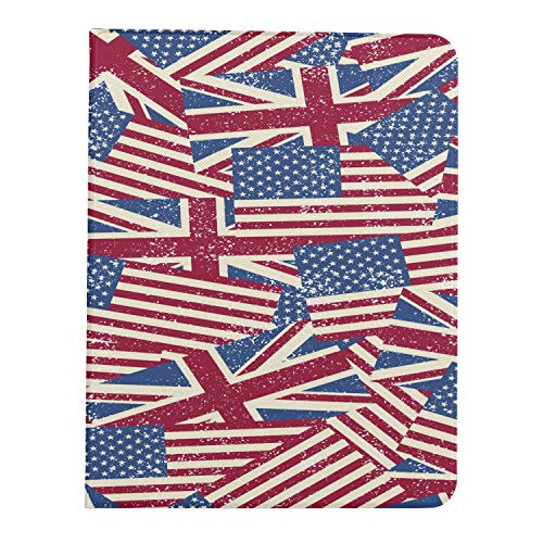 ZHANGhome Case For Ipad Pro 11 Inch 2nd & 1st Generation 2020/2018 11InIpadproCase American Usa Flag United Kingdom Uk Flag IpadPro11CaseCover Support Ipad 2nd Gen Pencil Charging