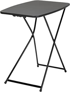 "COSCO 18"" x 26"" Adjustable Height Activity, Black, 1 pack Folding Table"