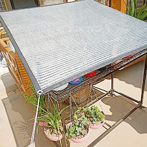 LDFZ schaduwdoek, 2 m × 3 m, 75% zonbeschermingsrooster, verdikking verdikt, oogjes aan de randen, jaloezieën, terras, tuin, achtertuin, plafond, strand 2m*2m