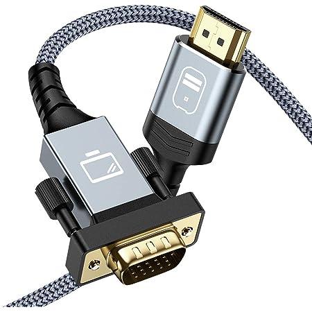 Hdmi Auf Vga Kabel Snowkids 1 8 M Hdmi Zu Vga Kabel Elektronik