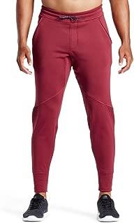 Mission Men's VaporActive Gravity Fleece Training Pants, Tibetan Red, XX-Large