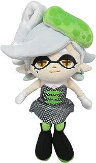 Sanei SP04 Splatoon Series Marie Green Squid Sister Stuffed Plush, 9.5
