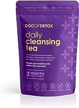 Doc Of Detox 90-Day Daily Detox Tea, Weight Loss Tea, Teatox Herbal Tea for Cleanse