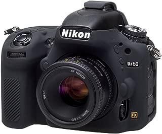 EasyCover EC_D750B Nikon D750 için Silikon Kılıf, Siyah/Sarı/Kamuflaj