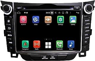 Android 10.0 Auto Radio für Hyundai Elantra GT/I30(2011 2018), 4 GB RAM+32 GB ROM, 7 Zoll Touchscreen DVD Player Bluetooth Radio GPS Navigationssystem Haupteinheit