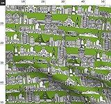 Stadt, Grün, Scrummy, San Francisco, Architektur,