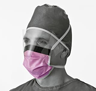 purple surgical mask
