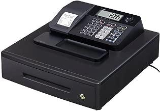 Casio SE-G1MB - Caja registradora (cajón grande para dinero, impresora y pantalla para cliente), color negro