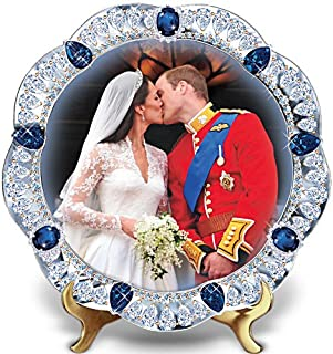 A Royal Kiss: The Prince William and Kate Middleton Wedding Collector Plate by The Bradford Exchange