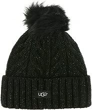 ugg pom-pom knit hat