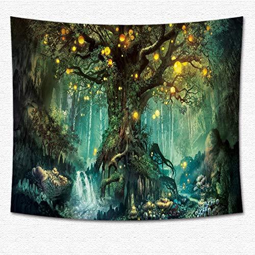 jtxqe Tapicería Fantasía Impreso Tela Colgante Decoración para el hogar Tapicería 4 200 * 150 cm