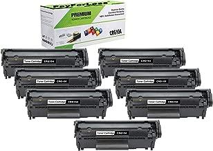 PayForLess Cartridge 104 CRG-104 Black 7PK Replacement for Canon imageClass MF4150 Faxphone L90 D420 LBP2900 LBP3000 MF4270 MF4690 Printers