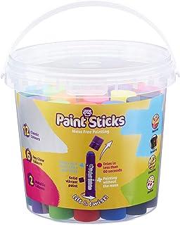 Little Brian LBPS10CMDA20B Assorted Paint Sticks Bucket 20 Pack
