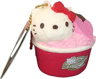 Squishy Hello Kitty Lovely Sweets Vanilla Ice Cream + BONUS Jenna Lyn Squishy!