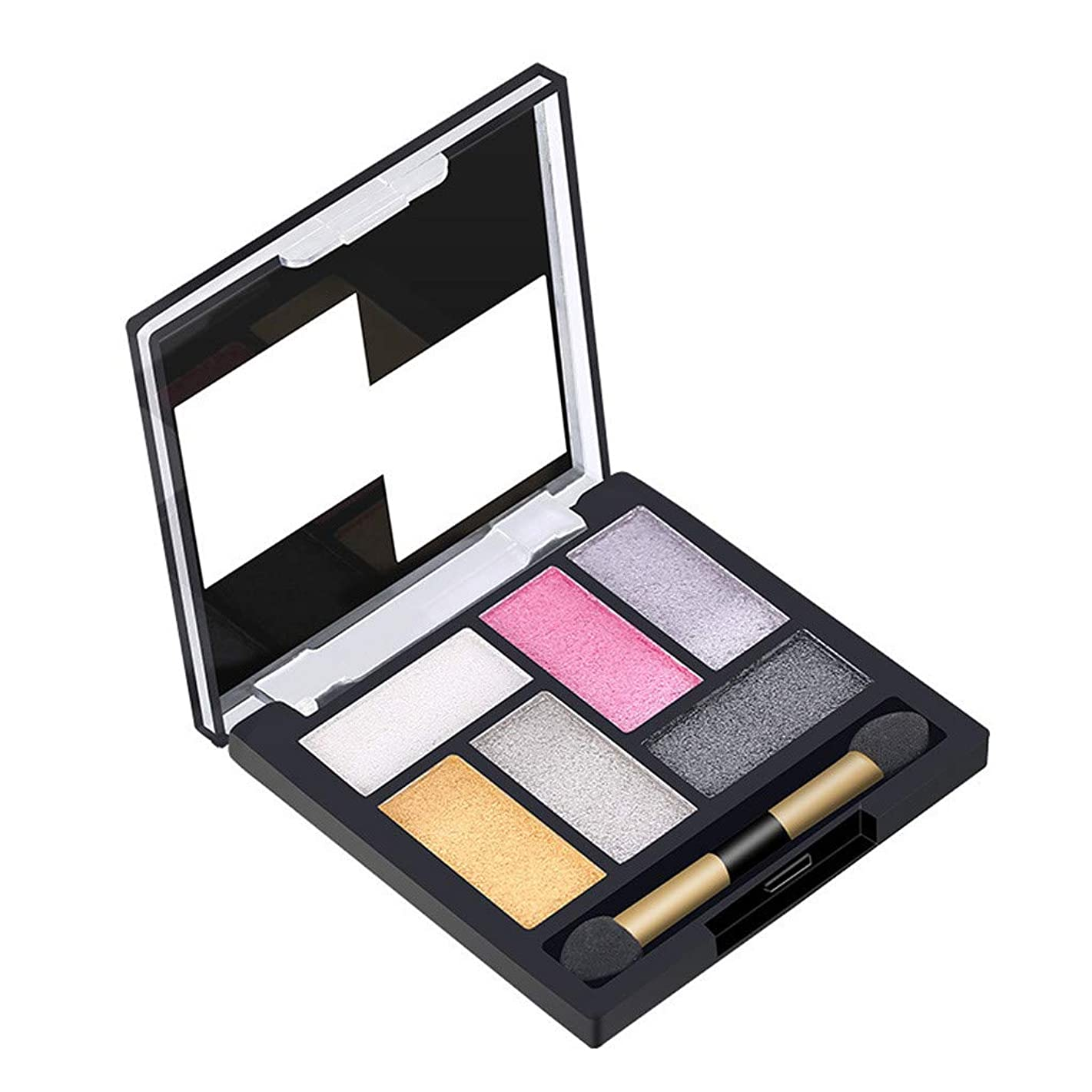 6 Colors Eyeshadow Cosmetic Matte Eye Shadow Cream Makeup Palette Pearlescent Shimmer Set