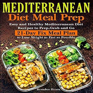 Mediterranean Diet Meal Prep audiobook cover art