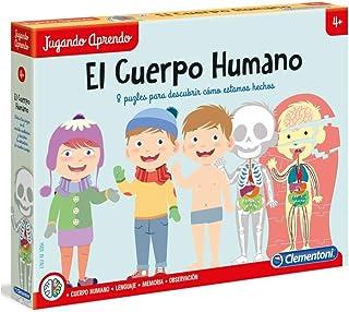 Clementoni - El Cuerpo Humano Juego Educativo, Multicolor (5