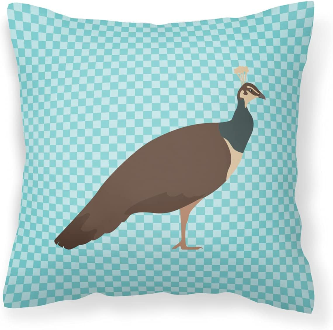 Max 83% OFF Caroline's Treasures BB8101PW1818 Indian Peafowl Direct stock discount Peahen Blue Che