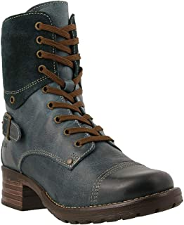 cropped military boot