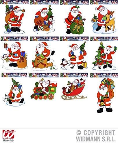 Generique - Décoration pour fenêtres Père Noël