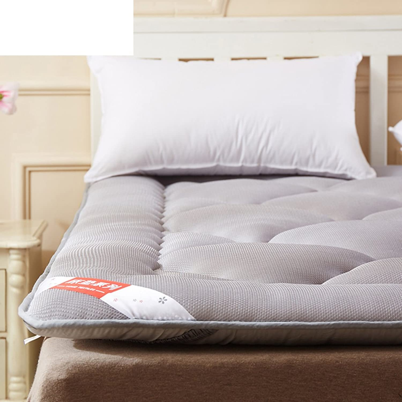 Breathable Mattress Mattress Tatami Mattress Double Bed Quilt Cover-A 90x200cm(35x79inch)
