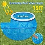 Nueva cubierta de piscina Bloqueador solar Protección UV Pool Dust Cove Easy Set Cubra la película aislante de la piscina para evitar la radiación ultravioleta película monocromática de aislamiento de