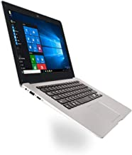 Lorenlli PC portátil Ultrafino Netbook de 14,1 Pulgadas 1366 * 768P Display Pixel 2GB + 32GB para Windows10