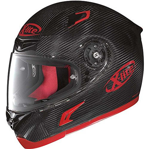 X-Lite Integralhelm X-802R Ultra Carbon Dekor Puro Sport 61/62=XL carbon/rot glä