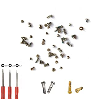 Screws Full Set Replacement for iPhone 5S with 4 Bottom Pentalobe Screws and 3 Screwdrivers