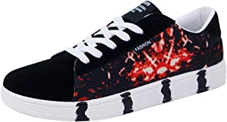 YaNanHome Chaussures Bateau Chaussures Homme Faible Aide Chaussures de Toile Sport Chaussures Occasionnelles Chaussures de...