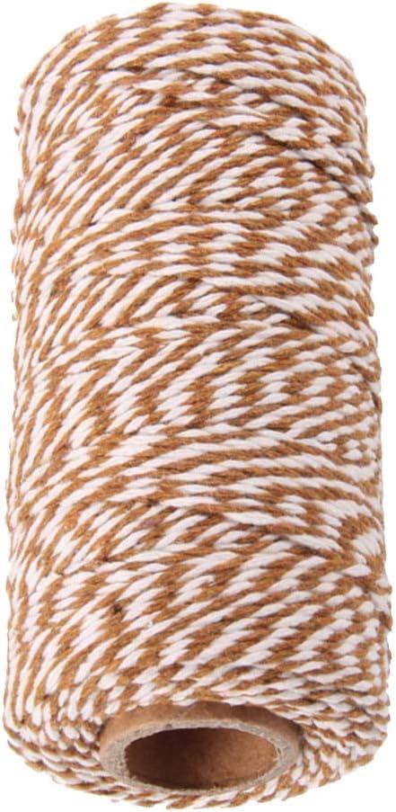Nero LOVIVER Cordoncino di Iuta Naturale da 328 Metri Materiali per Imballaggio Industriale Corda di Iuta Naturale Resistente per Le Arti E Lartigianato E Le Appl