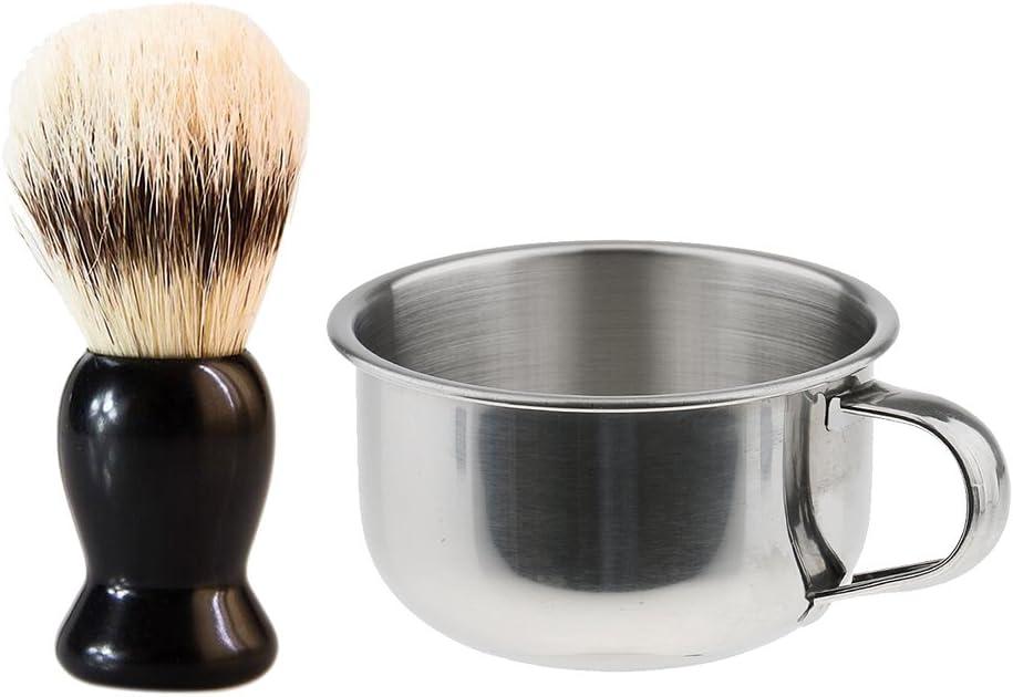 YIJU Men's Beard Hair Shaving Brush Soap Bowl Salon with Ranking TOP11 Max 90% OFF Mug Bar