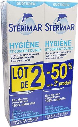 Stérimar Bébé Hygiène du Nez Lot de 2 x 100 ml