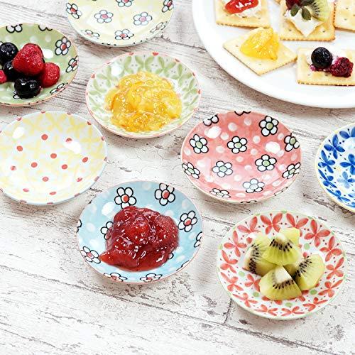 きざむ名入れ北欧豆皿セット小皿かわいい和食器8個セットギフト贈り物