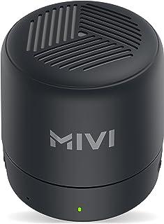 Mivi Play 5 Watt Truly Wireless Bluetooth Portable Speaker (Black)