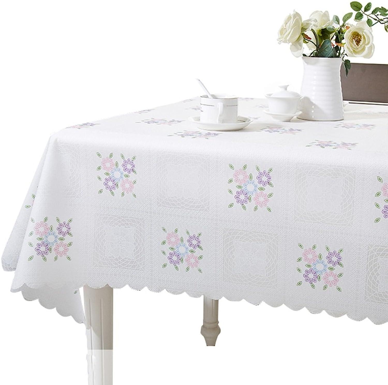 Tablecloth Grüne Plastiktischdecke wasserdichte, lresistente und tragbare Tischdecke (gre   137  220cm)