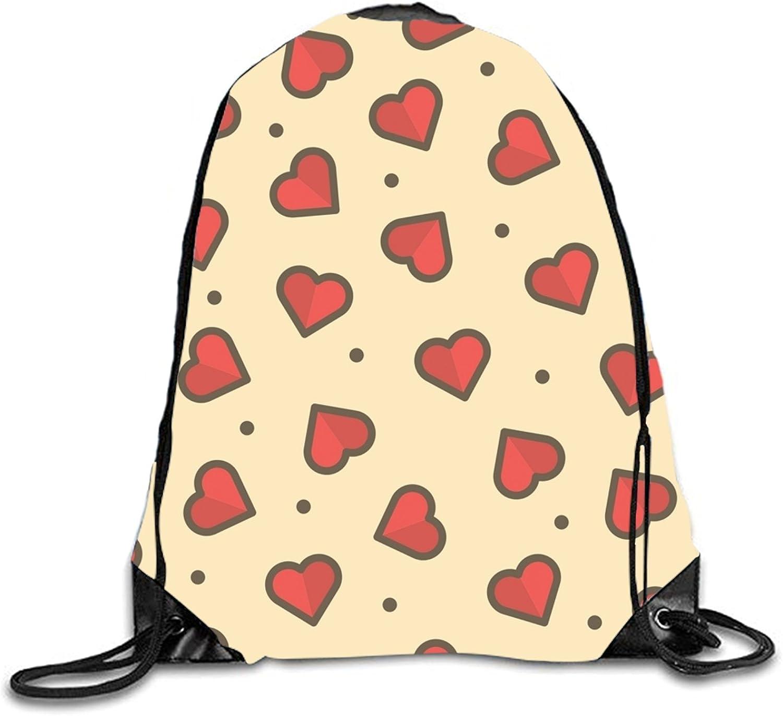 3D Print Drawstring Backpack Rucksack Shoulder Bags Gym Bag Lightweight Travel Backpack Rainbow