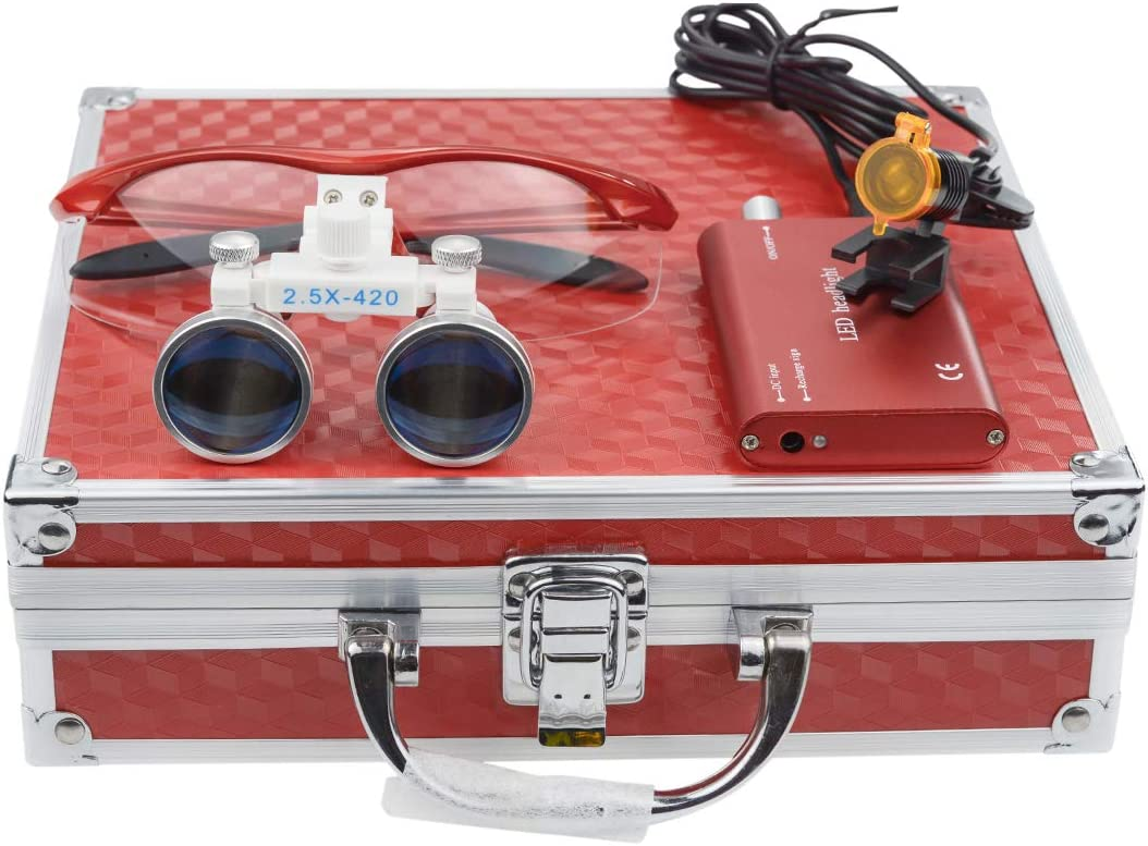 Los Angeles Mall Aries Outlets Dental Surgicial Loupes 2.5X Shipping included Loupe Magnification