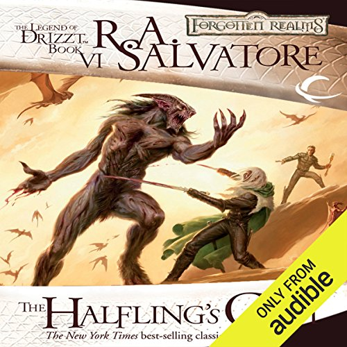 The Halfling's Gem     Legend of Drizzt: Icewind Dale Trilogy, Book 3              By:                                                                                                                                 R. A. Salvatore                               Narrated by:                                                                                                                                 Victor Bevine                      Length: 11 hrs and 21 mins     173 ratings     Overall 4.7