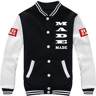 Kpop Bigbang Made Concert Baseball Uniform GD Taeyang Sweater Coat