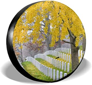 ENEVOTX Arlington National Cemetery Near Washington Dc Tire Cover for Girls Tire Wheel Protector Tire Cover Waterproof Uv Sun 14 - 17 Fit for Jeep Trailer Rv SUV and Many Vehicle